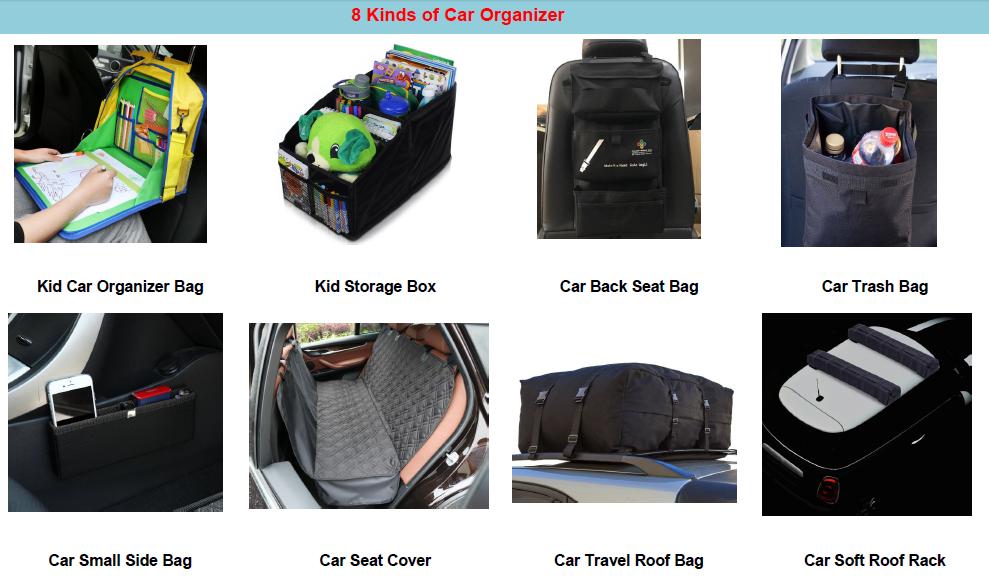 Spare Tire Trash Gear Bag w//Seat Organizer Jeep//SUV//RV