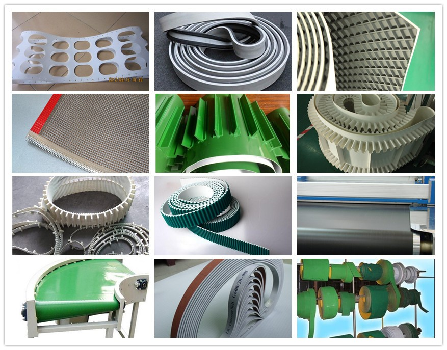 Chinese high quality steel plate wrapper machine seamless tensile belt