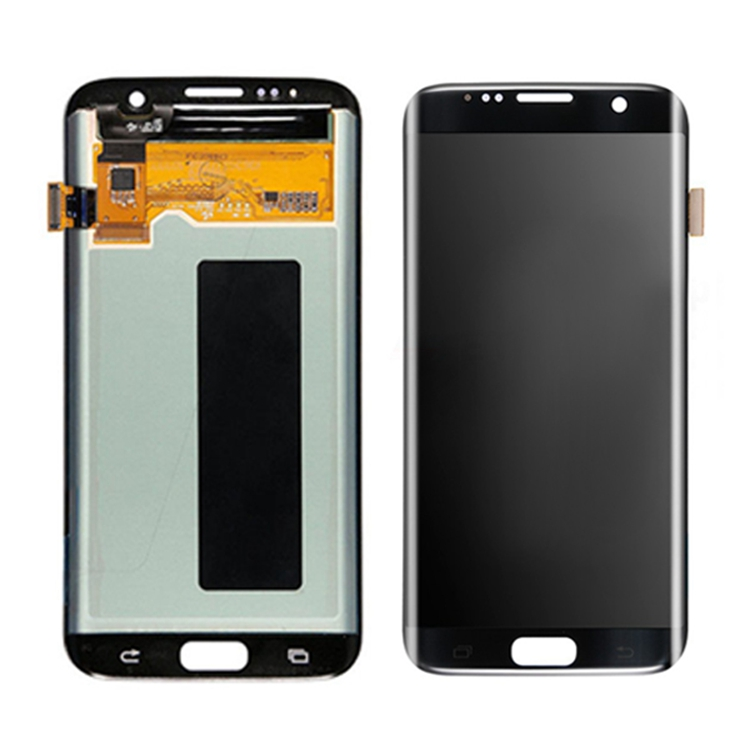 mobile spare parts lcd screen repair for samsung lcd panel replacement for samsung galaxy s7 edge lcd