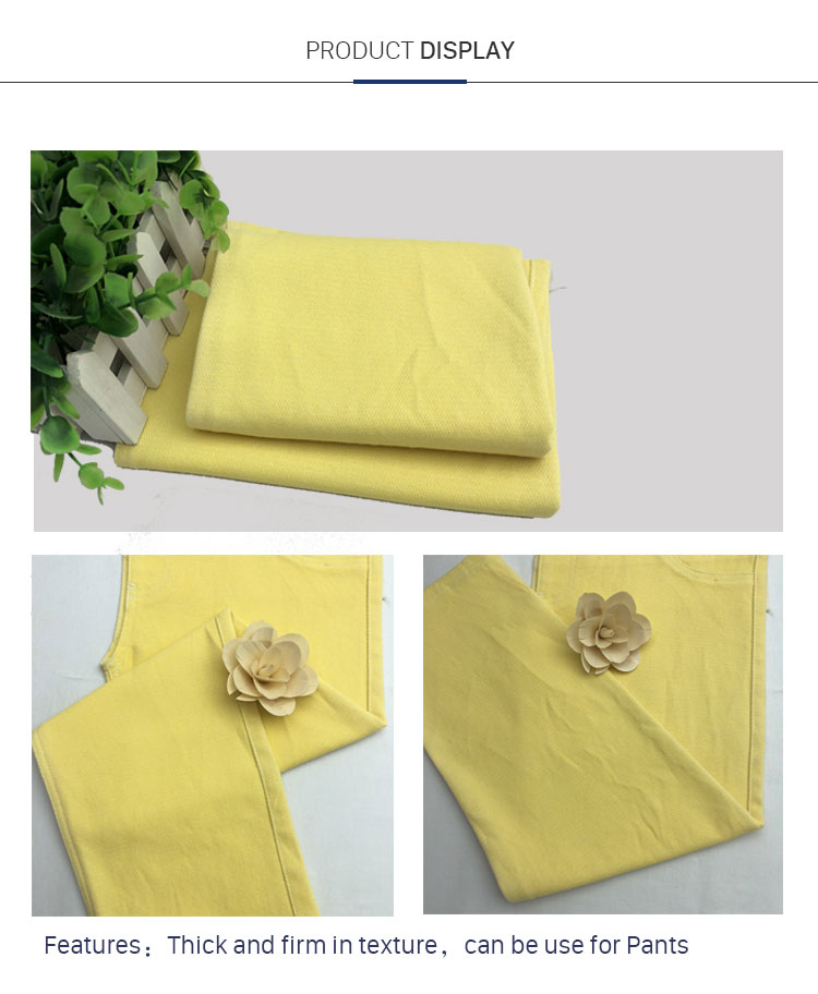 New Stretch Twill Material Elastic Irregular Twill Textile Trouser Fabric