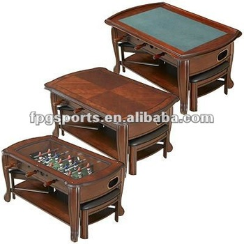 In Coffee Table Buy Bumper Pool TableBumper TableBar And - Foosball coffee table with stools