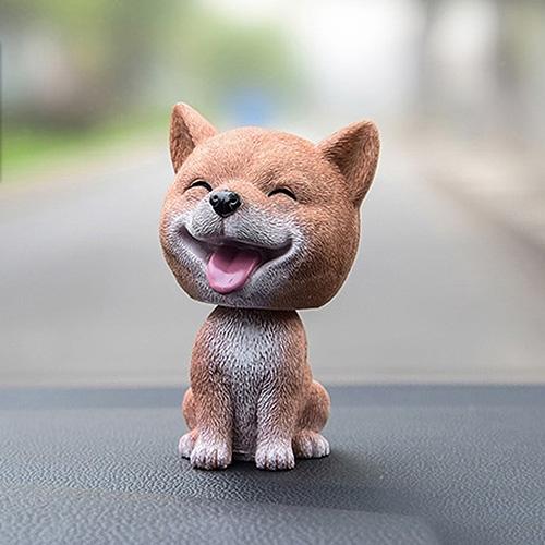 Interior Accessories Ornaments Honest Car Shaking Head Toy For Car Decoration Nodding Dog Auto Shaking Head Dog Dolls Interior Dashboard Decoration Accessories