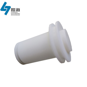 Custom cnc acetal plastic piston for mechanical equipment