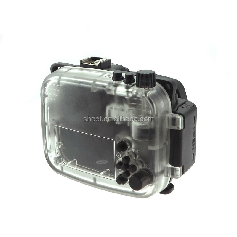 Hot selling Underwater camera Waterproof housing for Sony NEX-5R 18-55mm Lens Camera