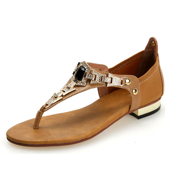 Ladies Simple Flat Sandals