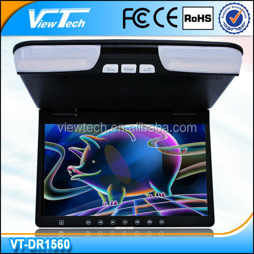 Hot sale 15 inch cheapest bus DVD & monitor