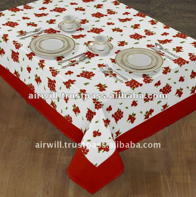 New style printing table cloth