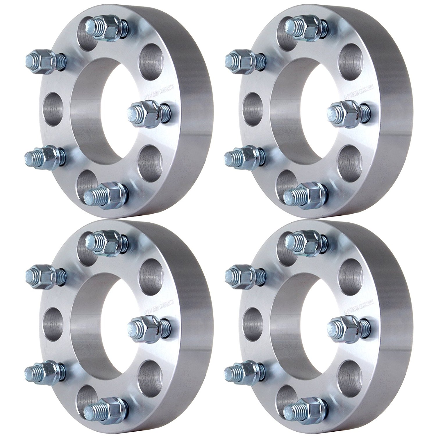 "ECCPP Wheel Adapter Spacers | 4PCS 1.5"" 5x135 to 5x139.7 (5x5.5) 14x2 Studs