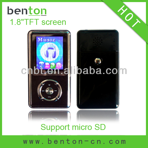hot portable tv mp4 player with memory card slot (BT-P208)