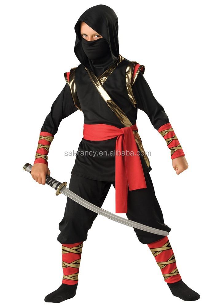 Ninja chica anime niños cosplay traje del vestido de boda QBC,8274 pato