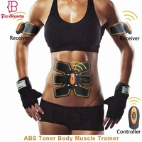 new product ideas 2018 abs stimulator ems electric muscle belt toner massager for slimming