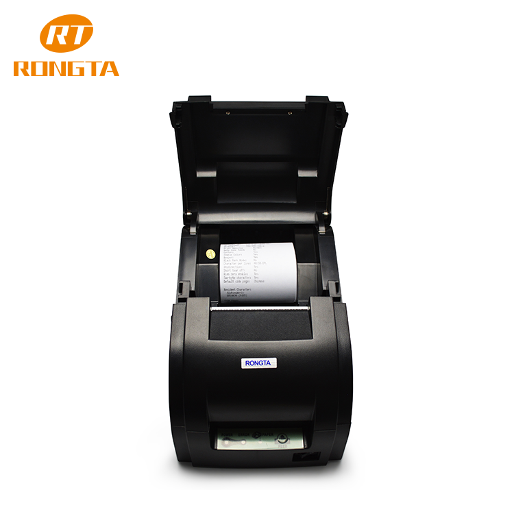 best seller 76mm printer double color support for banking receipt impact printer