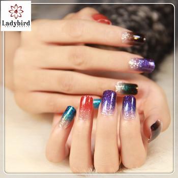 Design Glitter Nail Wraps Foil Patch Beauty Strips
