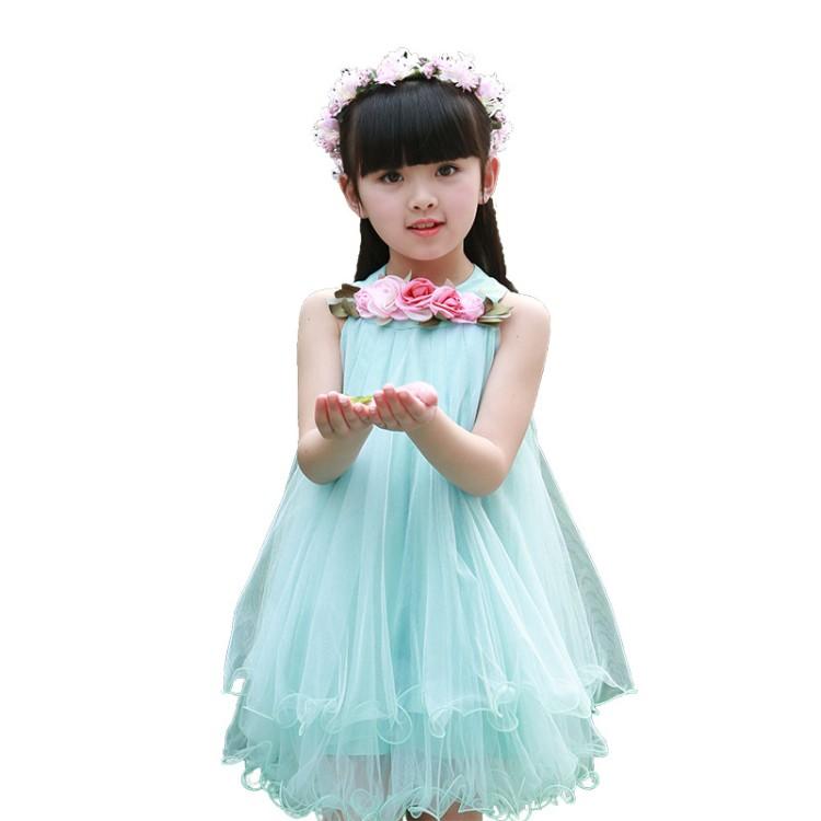 8ac785538 هاو الطفل الصيف الفتيات اللباس جديد اليابانية الطازجة الصيف ارتداء Cuhk  TongXia نمط من الأطفال الأميرة