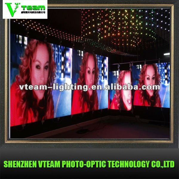 new products for 2012 p6mm indoor led display screen