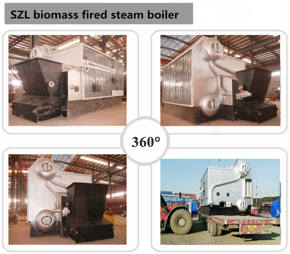 Best price double drum water tube industrial peanut paddy rice husk biomass wood pellet solid fuel fired steam boiler
