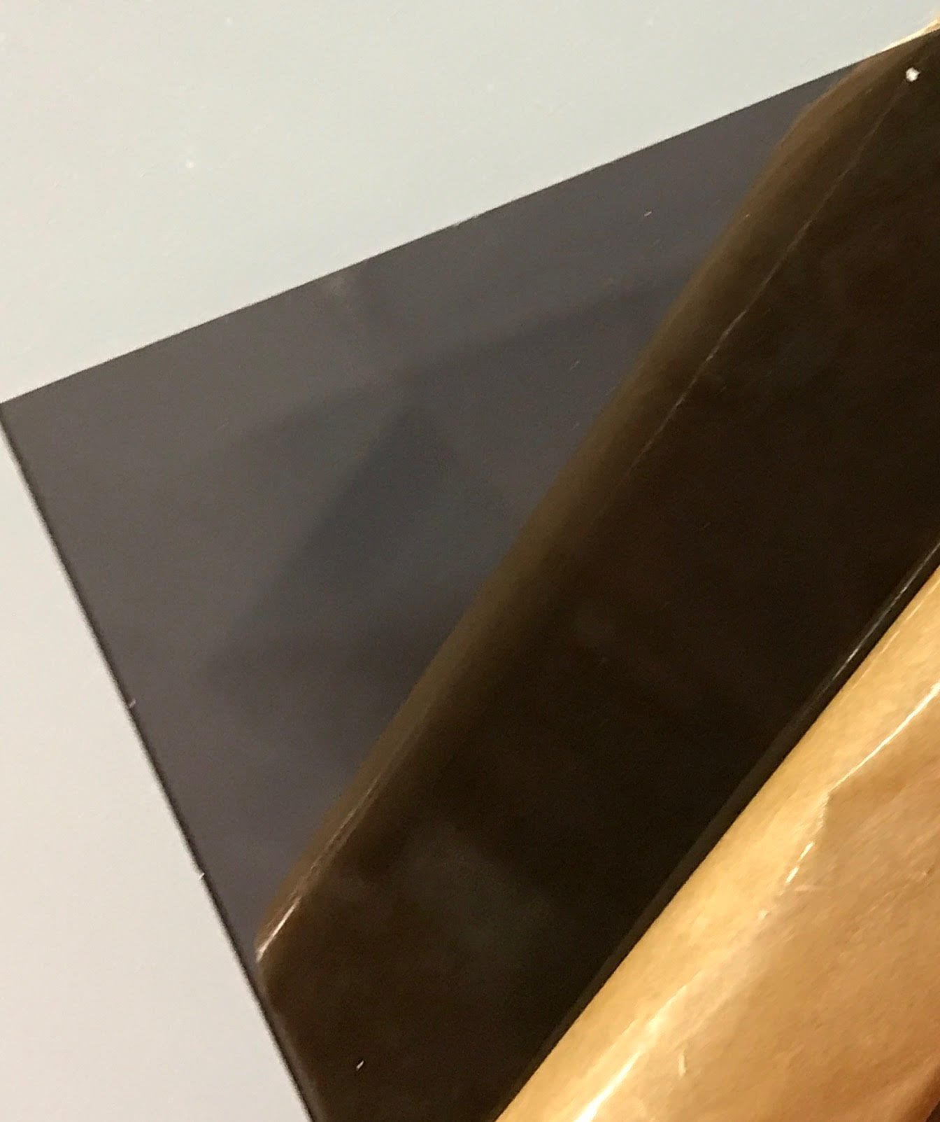 "SIBE-R PLASTIC SUPPLY - Dark Gray/Smoke Transparent Acrylic Plexiglass #2074 - 1/8"" - 24"" x 48"" ACRYLIC PLASTIC SHEET"