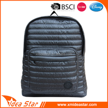 Cheap price customized foam quilted backpack