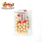 bulk candy bean Yogurt flavor chocolate with biscuit ball for sale