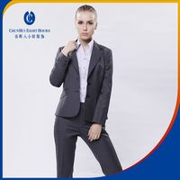 professional manufacturer supplyinglatest office ladies suit style wear skirt and blouse work uniforms for young beauty women