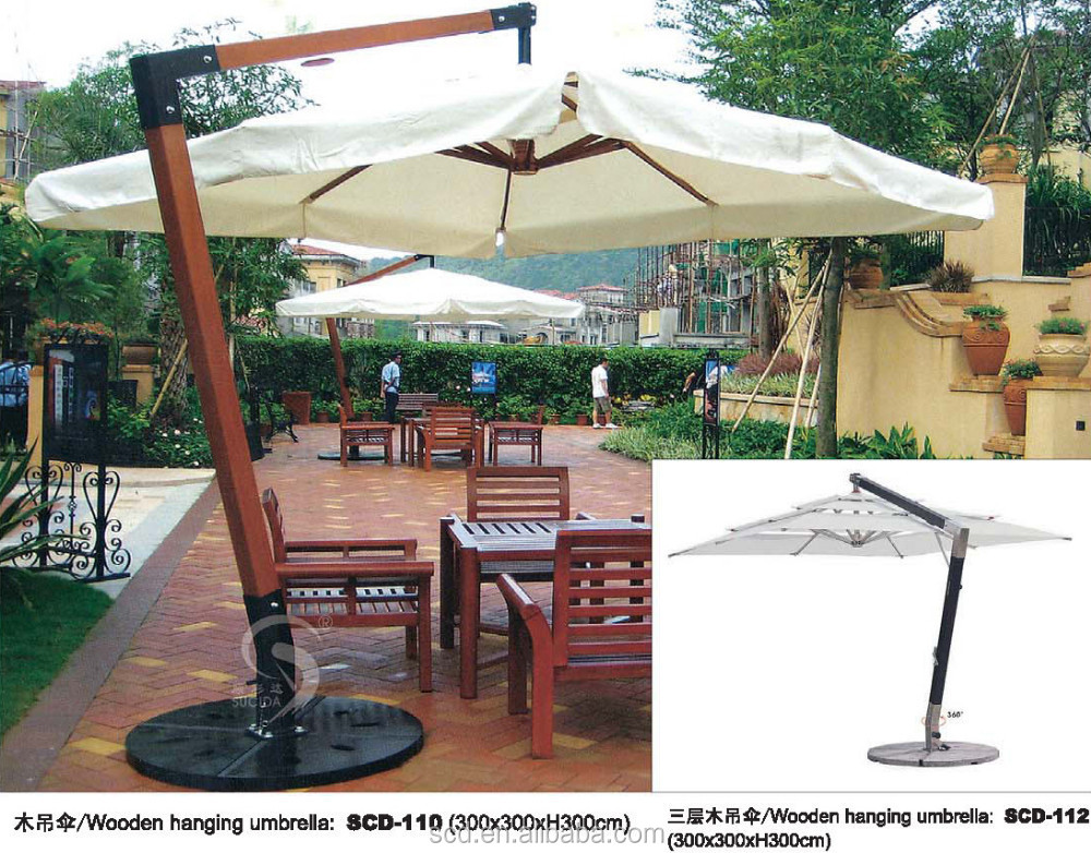 Wooden Sunshade Umbrella High Quality Parasol Outdoor Umbrella   Buy Pation  Umbrella,Hotel Umbrella,Hotel Furniture Product On Alibaba.com