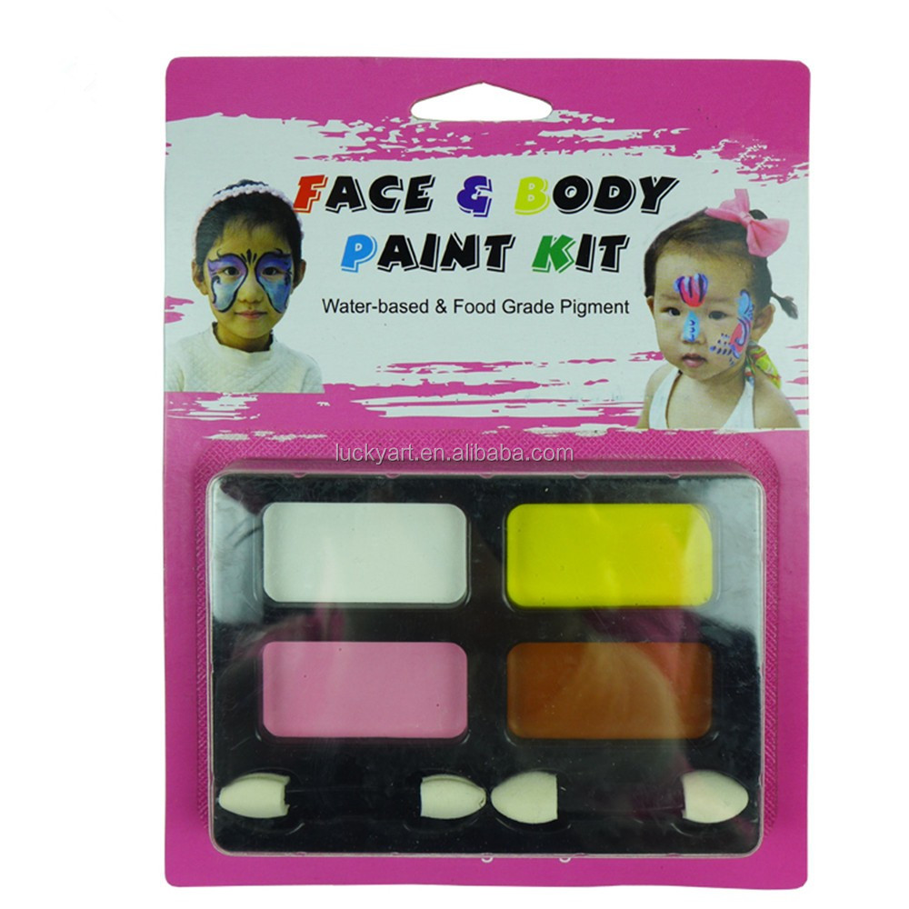 Fda Ce Quality Children Animal Face Paint Water Based Kids Halloween Makeup Body Face Painting Palette Buy Children Face Painthalloween Makeup Face