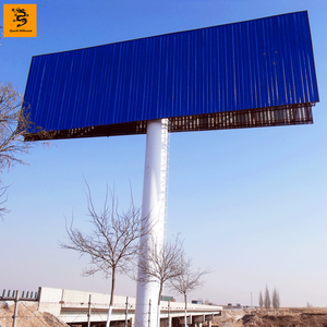 Qianxi Outdoor Advertising Steel Structure unipole digital Billboard manufacturer
