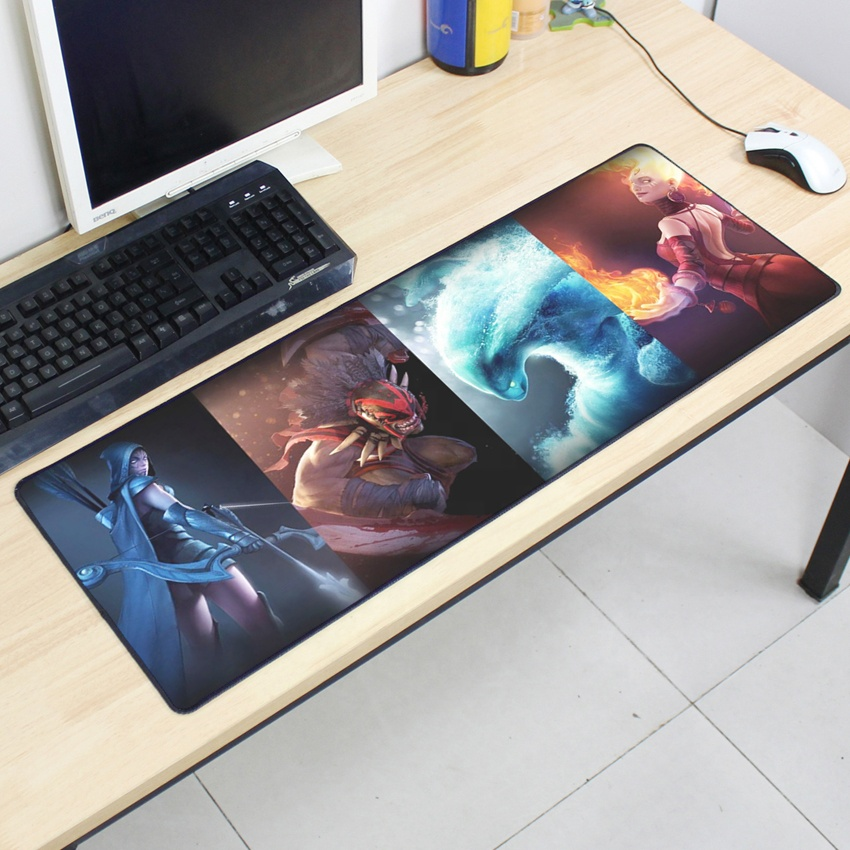 Custom extended gaming mouse pad / mouse pad gaming / dota 2 mousepad