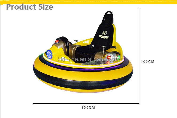 Factory Price Outdoor Playground Equipment  Inflatable Electric Bumper Car for Kids