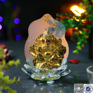 The Ganesha God, India Crystal Model
