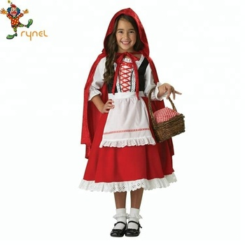 Hot Fairytale Little Red Riding Hood Girls Costumes Buy Little Red