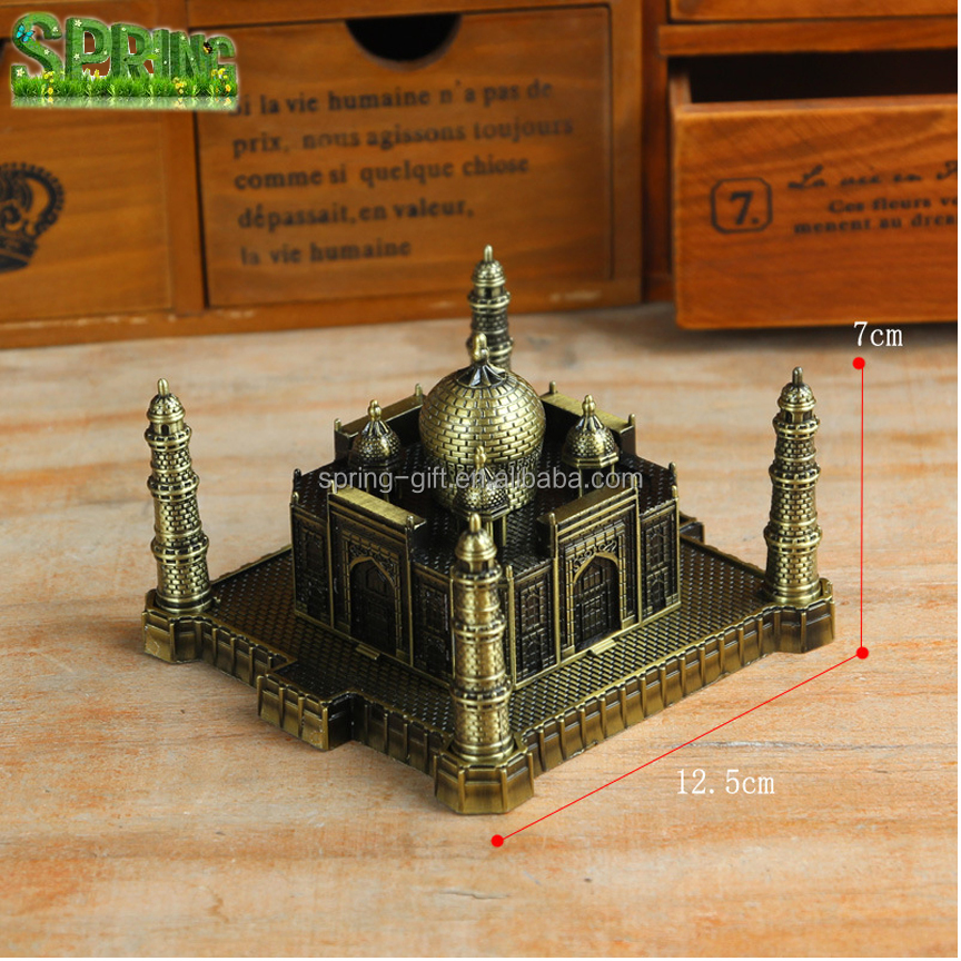 Promotion gift Metal Taj Mahal model in Indian.