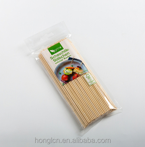 Natural Disposable Bamboo Skewer/Stick For BBQ/Food And Fruit
