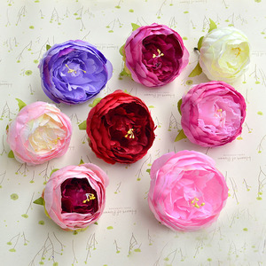 stocking flowers designs decorative flowers without stems silk peony heads