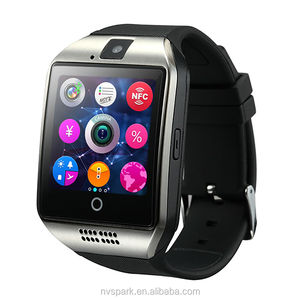 Hottest Arc Smart Watch Sync Sim Card Bluetooth MP3 Player Q18 Smart Watch