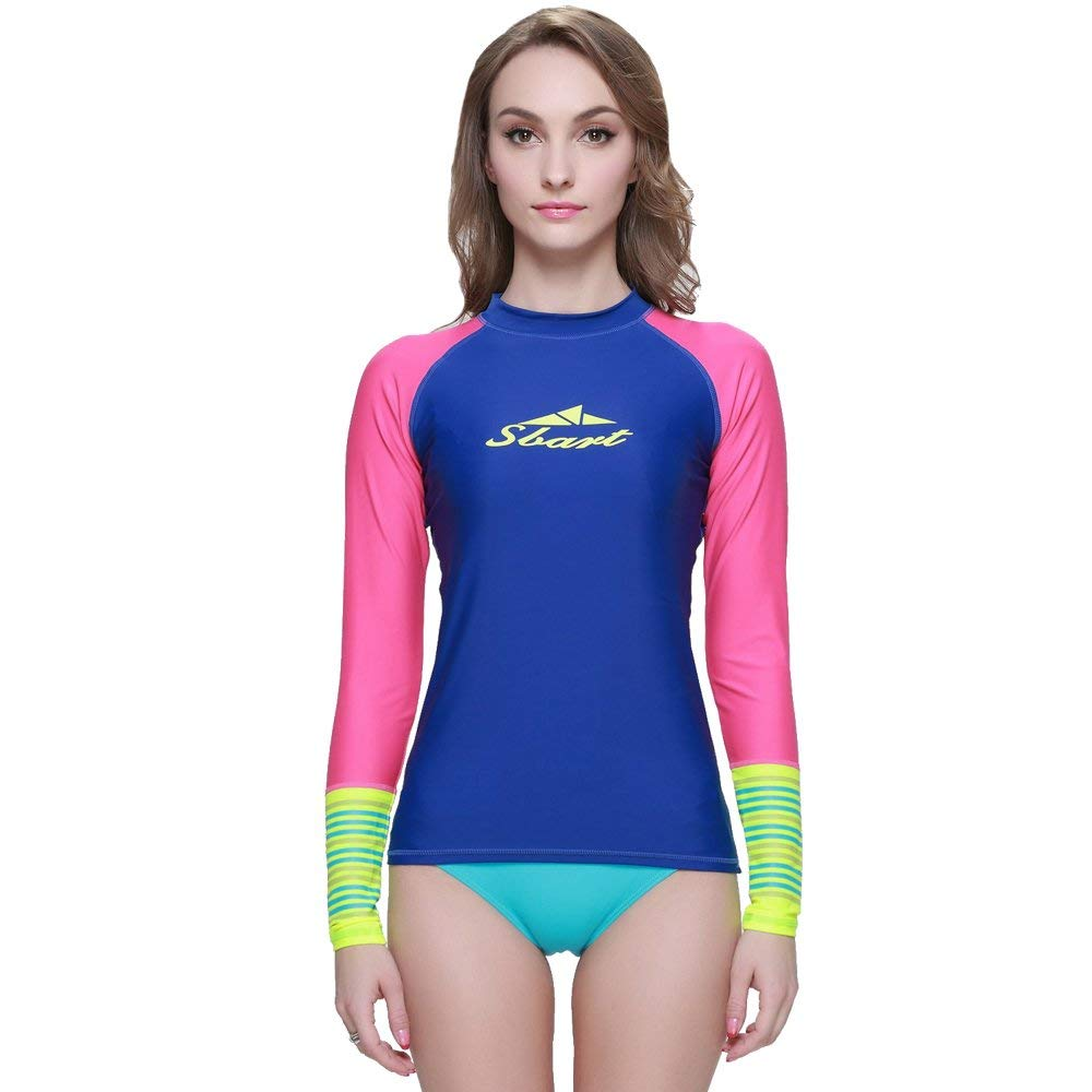 5e872aee7adaf Get Quotations · TZ TED Wetsuit Top Lycra UV Protection Back Zip Diving  Surfing Snorkeling Swimming Suit Keep Warm
