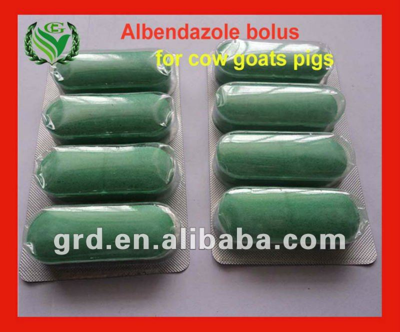competitive price Albendazole 2500mg bolus for animals