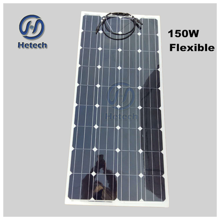 Made in china solar-panel-modul photovoltaik-panel solar panel 150 watt flexible für dach