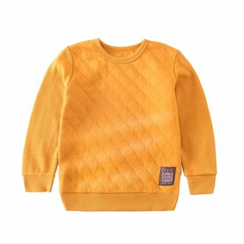 S52854A  kids boys pullover solid color warm sweater design for children