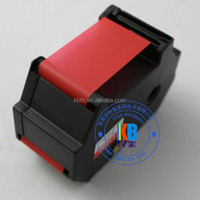 Fluorecent red compatible T1000 ink ribbon cartridge
