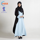 Zakiyyah MD 823 Latest abaya designs 2016 for women Dubai islamic clothing wholesalers in mumbai kuwaiti abaya india exporters