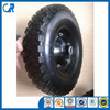 Hot sale high quality flat free tire 4.00-8 pu foam solid wheel