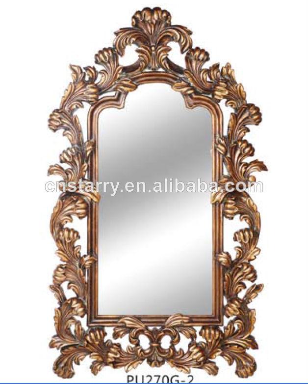 oro antiguo marco del espejo para la decoración-Marco-Identificación ...
