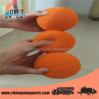 Concrete Foam Wiper Ball Buy Concrete Foam Wiper Ball