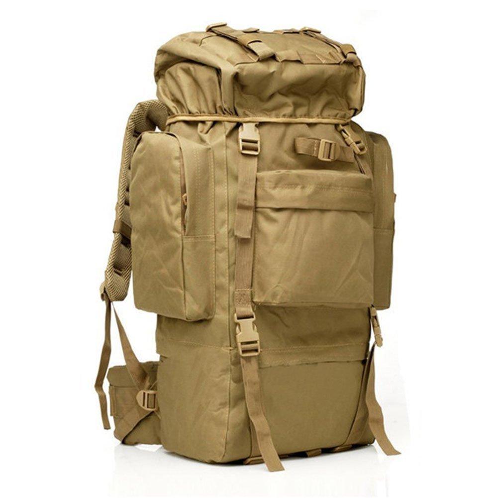 Buy 65L Internal Frame Backpack Waterproof Tactical High Capacity ...