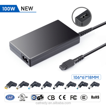 Super Slim 100W 18.5v-20v Universal Laptop AC Power Adapter with 1 USB charger