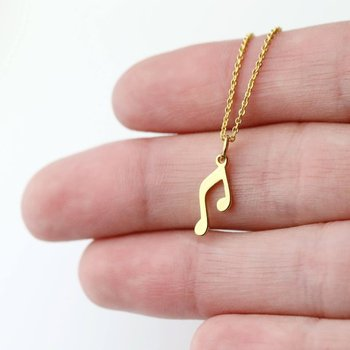 Inspire Jewelry Music Jewelry Gold Silver Special Gift Minimalist