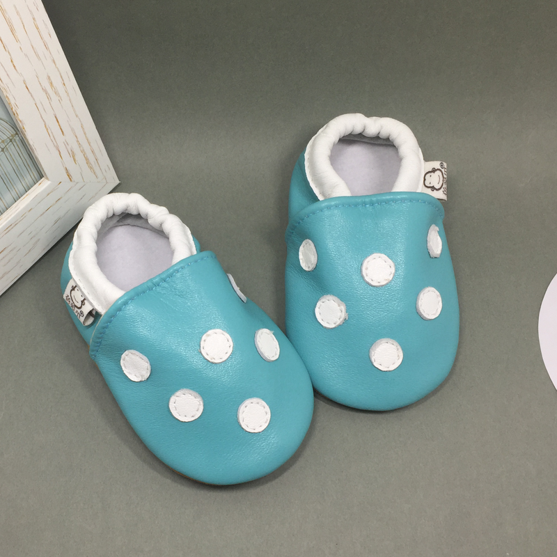 MIQIDIDA Spring and autumn 6-12 months baby boys and girls shoes soft leather baby shoes