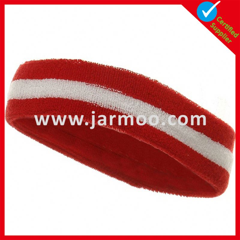 High Quality Advertising sweat head band for events
