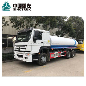 low price 336hp 20000 liters SINOTRUCK SINOTRUK HOWO used 20m3 water tank truck for sale